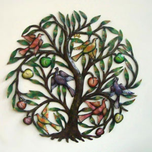 Bird Tree metal craft